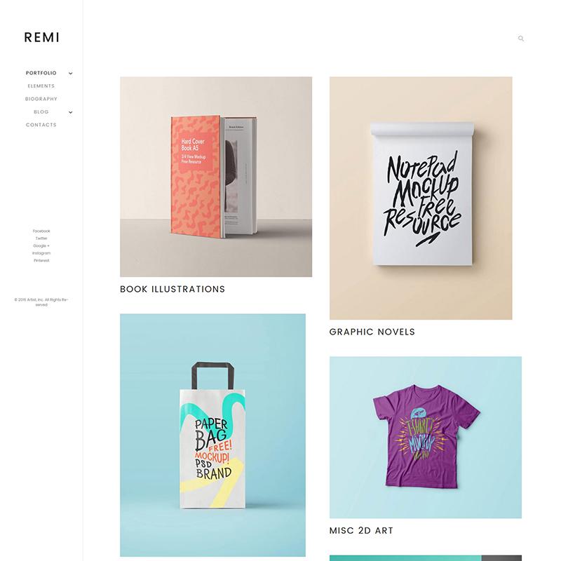 REMI WordPress theme