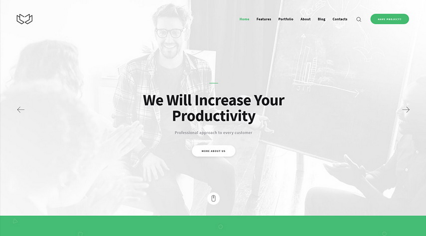 Deviox A Trendy Multi-Purpose Business WordPress Theme