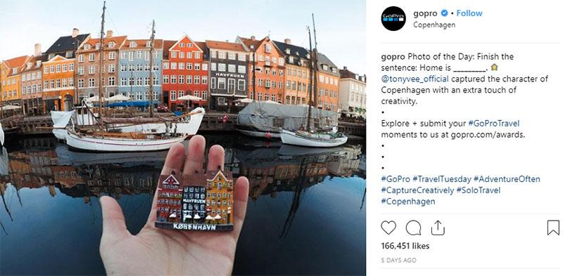 GoPro Instagram profile
