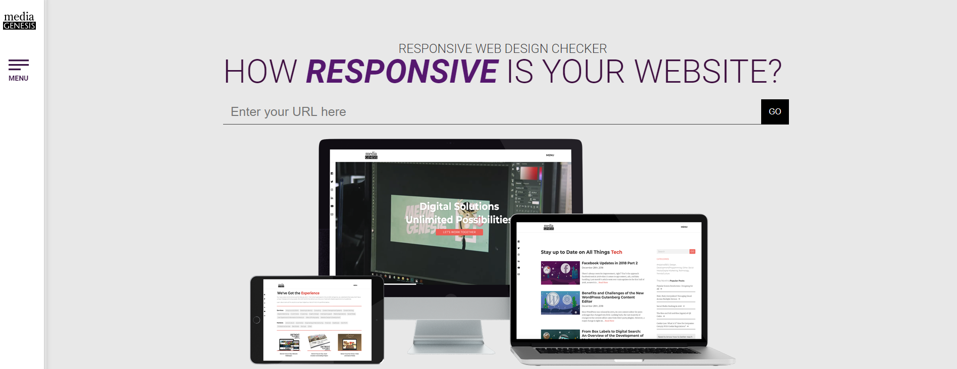 Responsive Design Checker