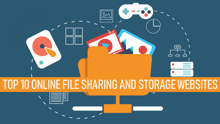 Top 10 Online File Sharing And Storage Websites