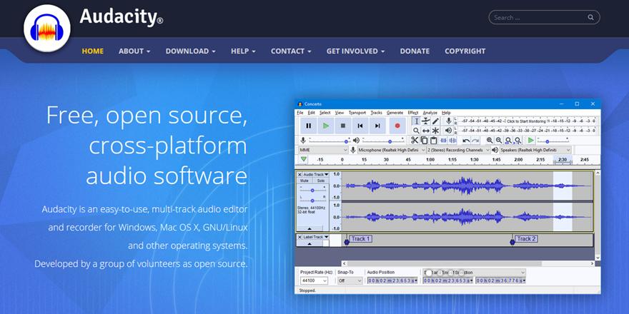 Audacity open source