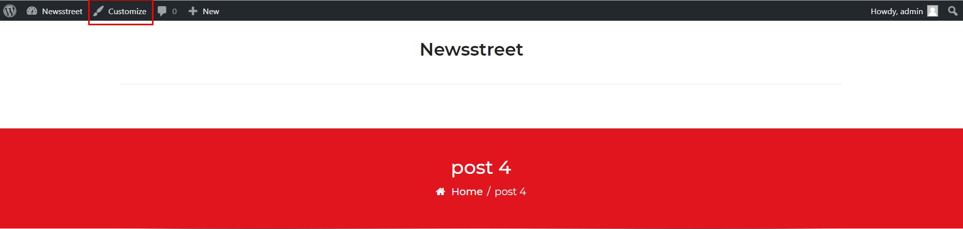 NewsStreet WordPress Free News and Magazine Theme