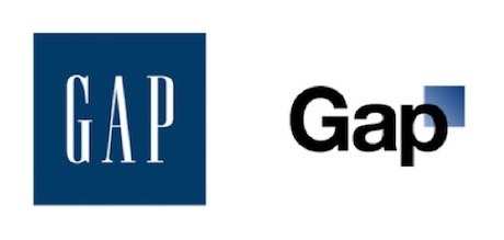 Gap logo evolution