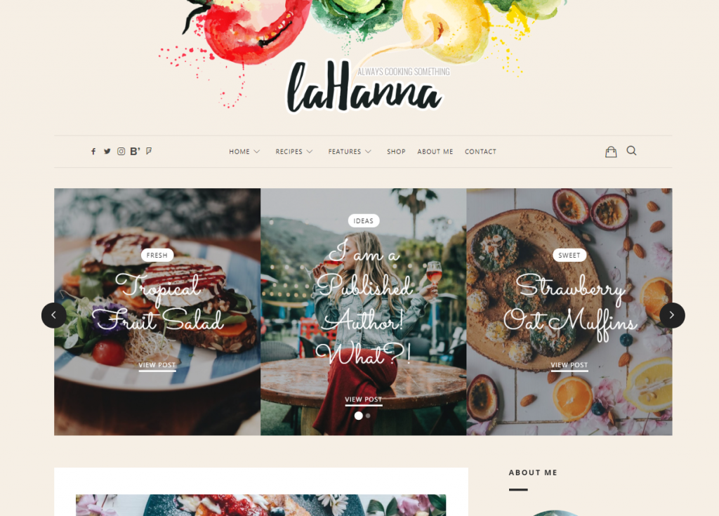 Lahanna food theme