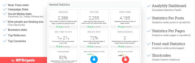 Google Analytics Dashboard By Analytify