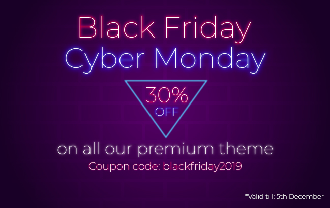 8Degree Themes Black Friday Offer