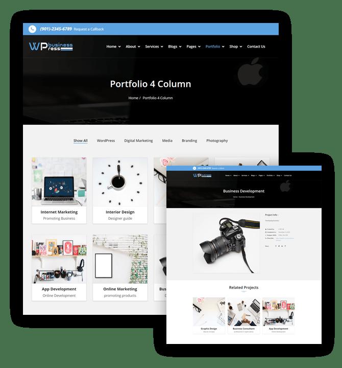 Wpbusinesspress portfolio