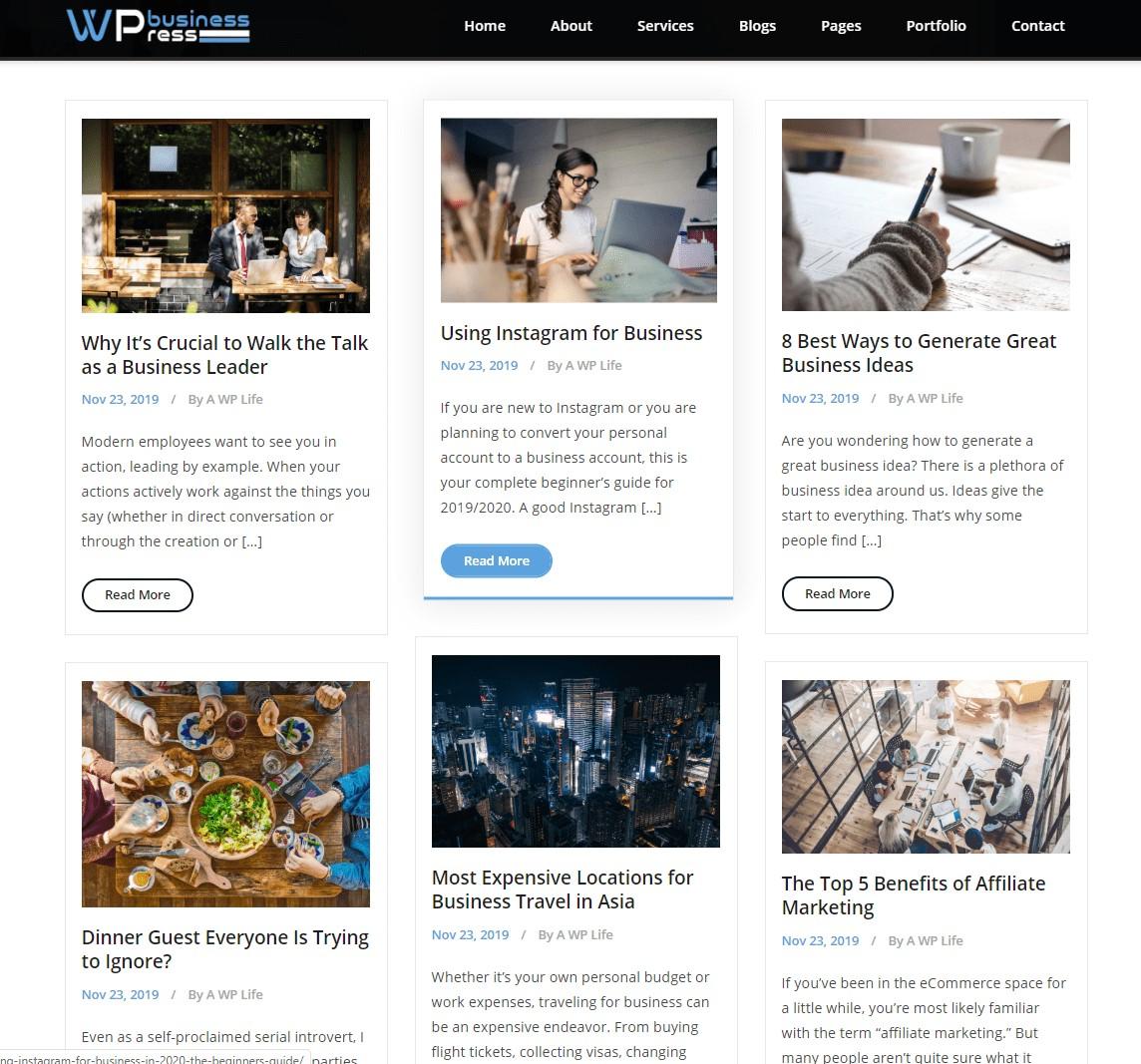 Blog 3 Column