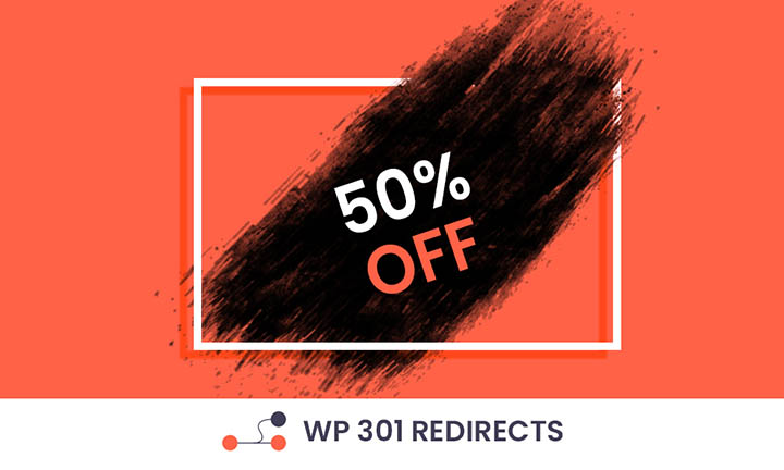 WP 301 Redirects Black Friday Discount Coupon
