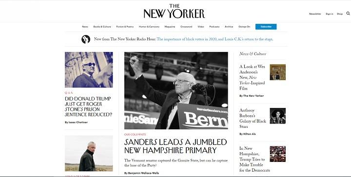 e New Yorker