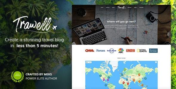 Trawell Theme for WordPress