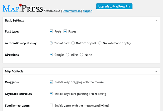 MapPress Easy Google Maps