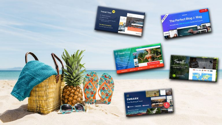 Best Bootstrap Themes For Your Travel Website