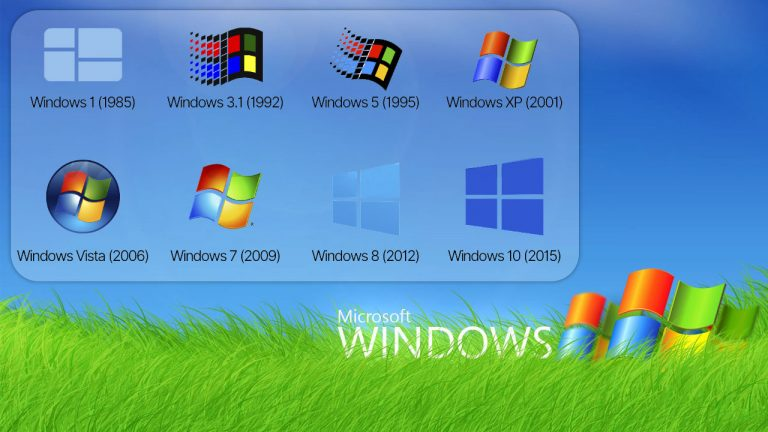 The Evolution of The Windows Logo - How Has One of The Most Popular Logo Changed