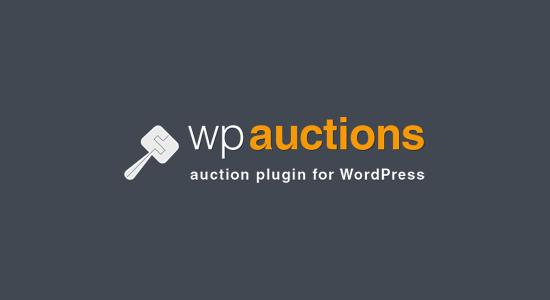 WP Auctions plugin