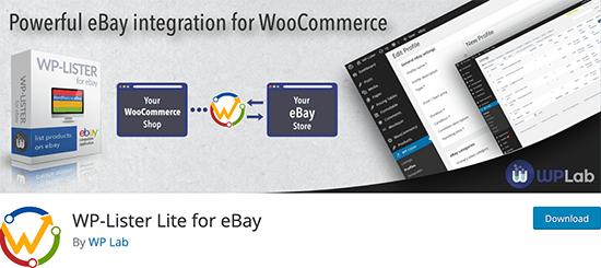 WP-Lister Lite for eBay