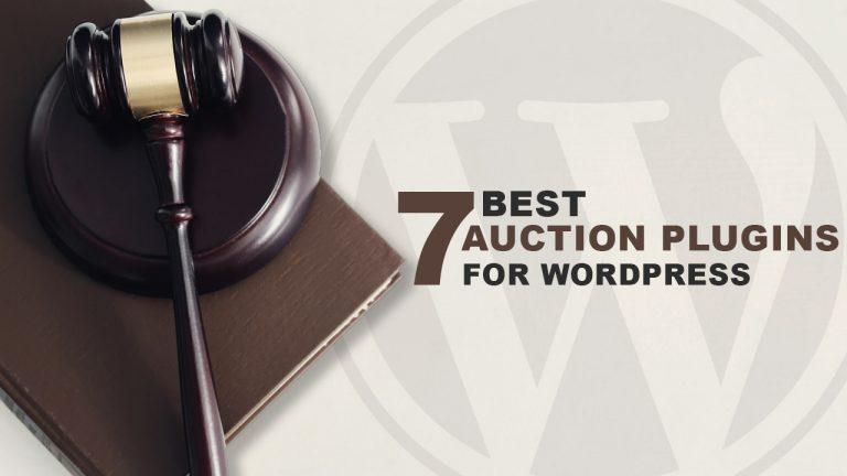 7 Best Auction Plugins for WordPress