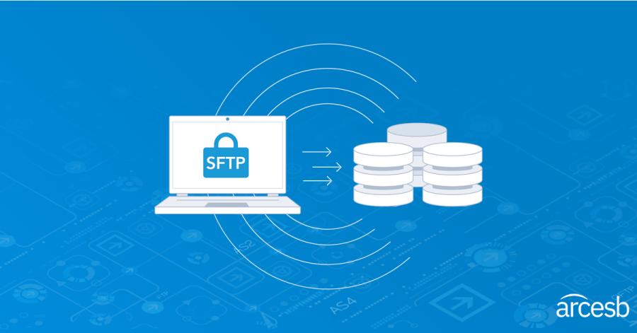 Transfer files via SFTP