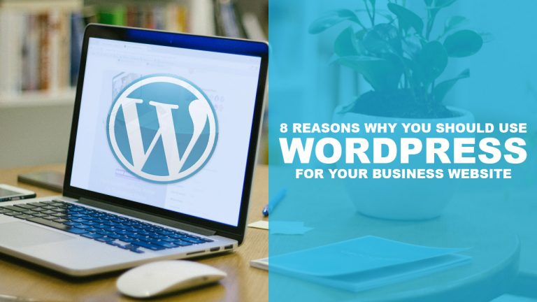 8 Reasons Why You Should Use Wordpress For Your Business Website