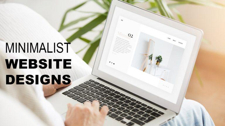 Minimalist Website Designs