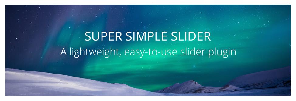 Super Simple Slider