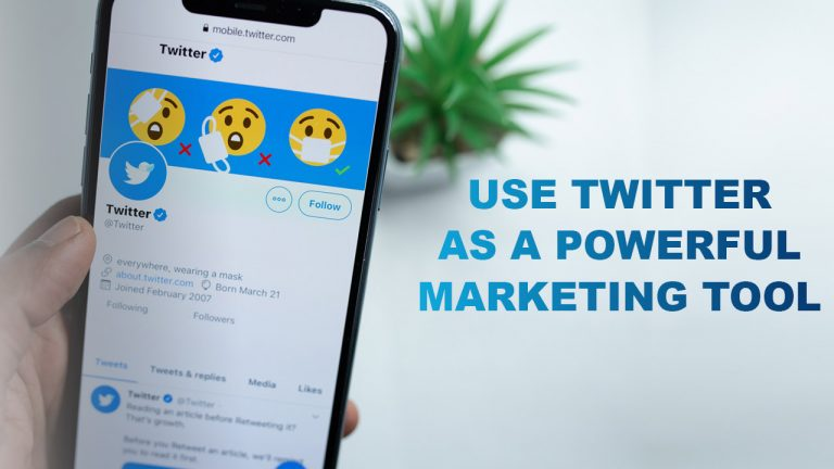 Use Twitter As A Powerful Marketing Tool With These Methods